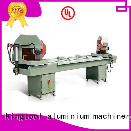 kingtool aluminium machinery aluminium cutting machine price readout double aluminum