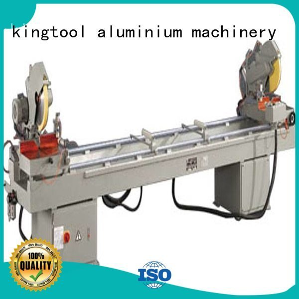 machine mitre 3axis kingtool aluminium machinery aluminium cutting machine