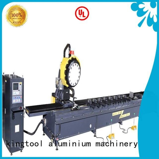 Hot cnc router aluminum machine aluminium profile kingtool aluminium machinery Brand