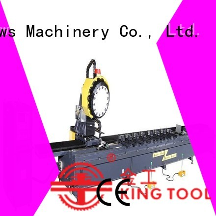 double-head 3axis profile aluminium router machine kingtool aluminium machinery