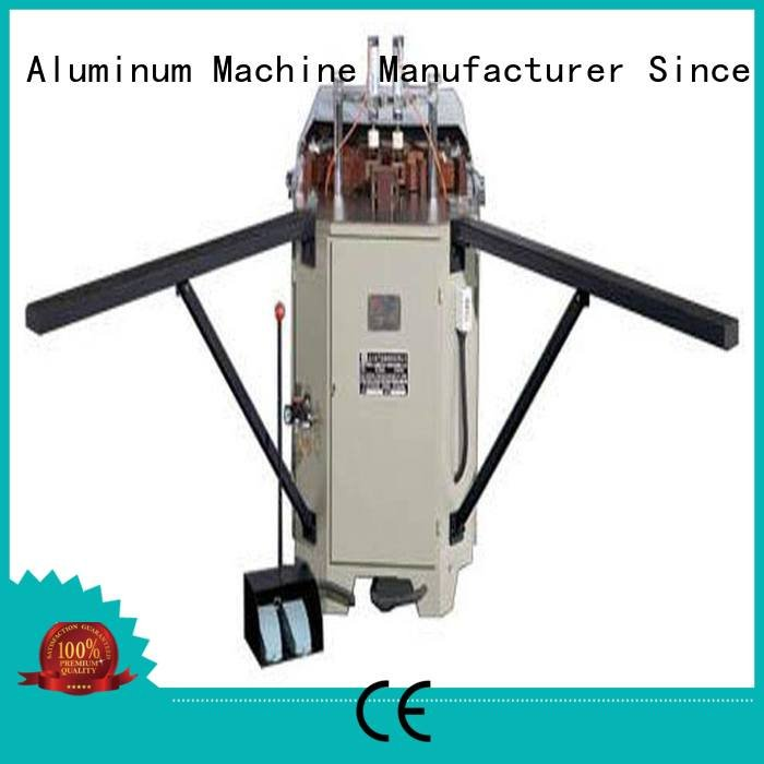 doubl ecorner crimping corner machine kingtool aluminium machinery aluminium crimping machine
