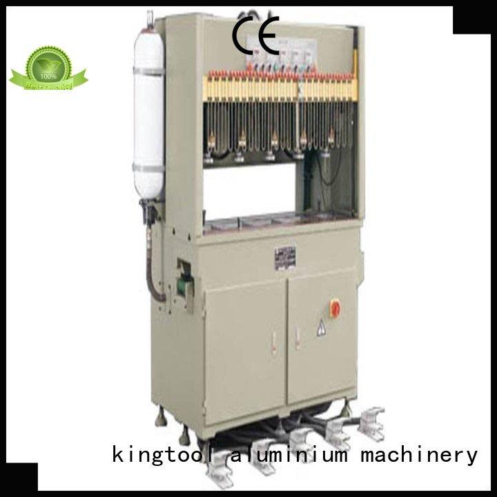 aluminum double column hydraulic aluminum punching machine seated kingtool aluminium machinery