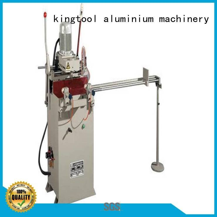 kingtool aluminium machinery high drilling aluminium router machine semiautomatic heavy