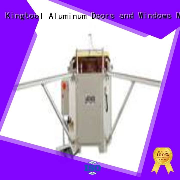 kingtool aluminium machinery aluminium crimping machine for sale profile duty crimping