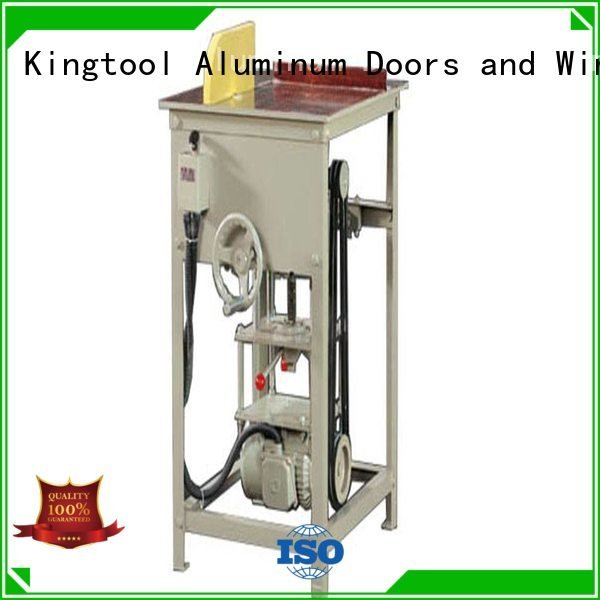 duty type angle aluminium cutting machine kingtool aluminium machinery