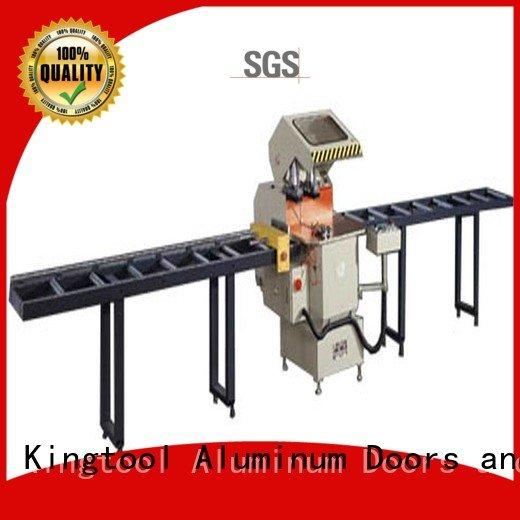 kingtool aluminium machinery Brand al aluminium cutting machine price heavyduty display