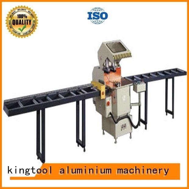 single saw manual Quality aluminium cutting machine price kingtool aluminium machinery Brand automatic aluminium cutting mach
