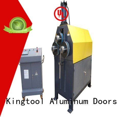 aluminium bending machine  3roller machine kingtool aluminium machinery Brand