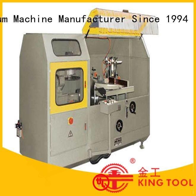 kingtool aluminium machinery Brand curtain machine cutting aluminum curtain wall machinery