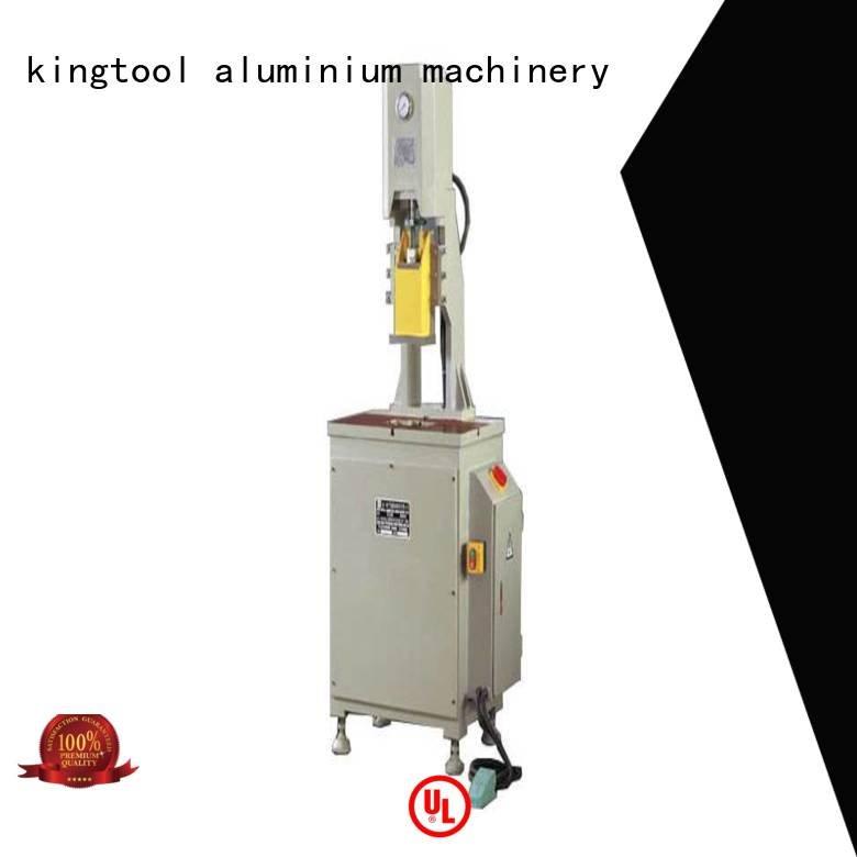 kingtool aluminium machinery aluminum punching machine double aluminum profile column