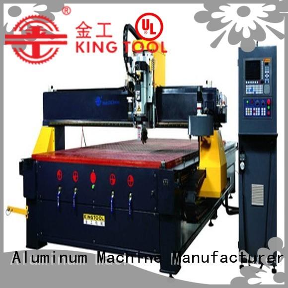 Hot 5axis aluminium router machine router cutting kingtool aluminium machinery Brand