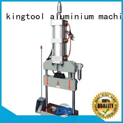 OEM aluminum punching machine profile four column aluminium punching machine