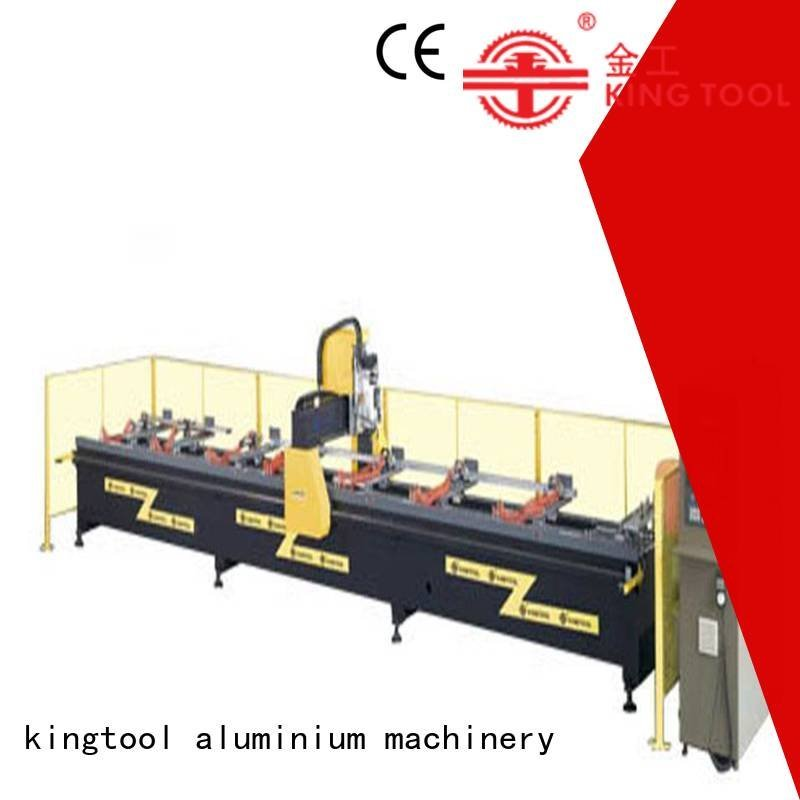 kingtool aluminium machinery cnc router aluminum head aluminium profile aluminum