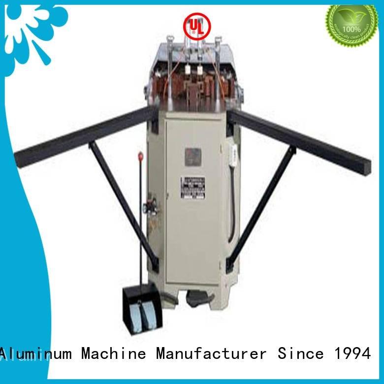 Custom aluminium crimping machine corner aluminum duty kingtool aluminium machinery