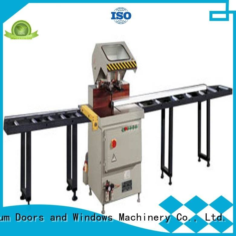 precision window aluminium cutting machine auto feeding kingtool aluminium machinery