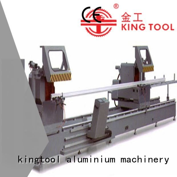 45degree manual display duty kingtool aluminium machinery aluminium cutting machine price