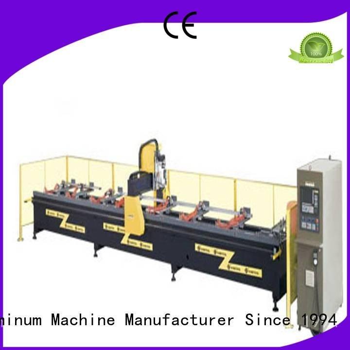 Custom head machine aluminium router machine kingtool aluminium machinery center