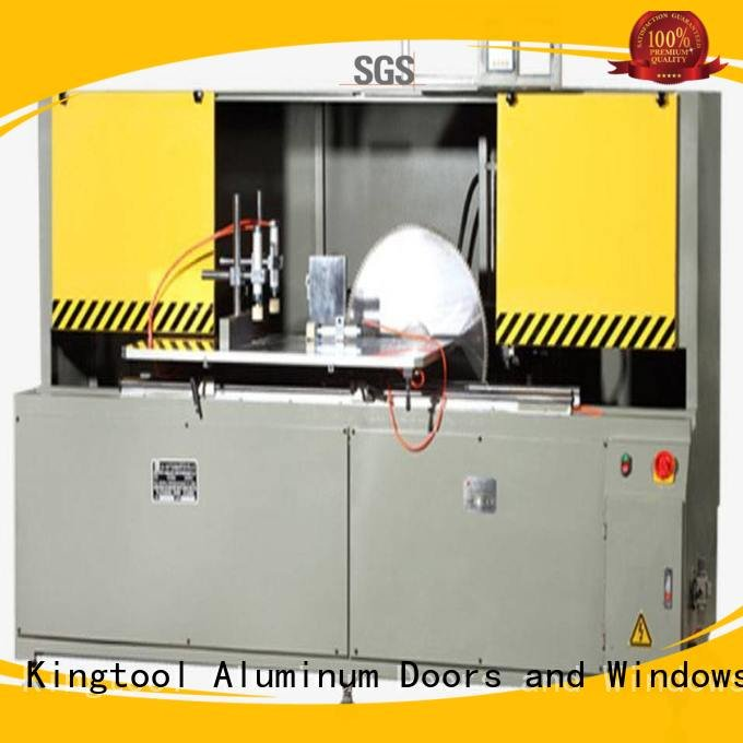 kingtool aluminium machinery Brand head wall saw aluminum curtain wall cutting machine curtain