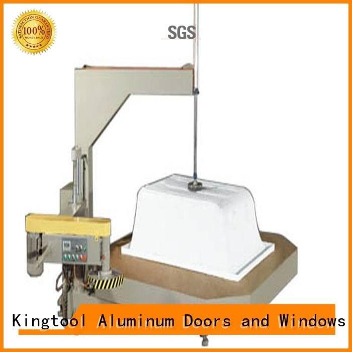 kingtool aluminium machinery Brand materials ware material sanitary profile cutting machine