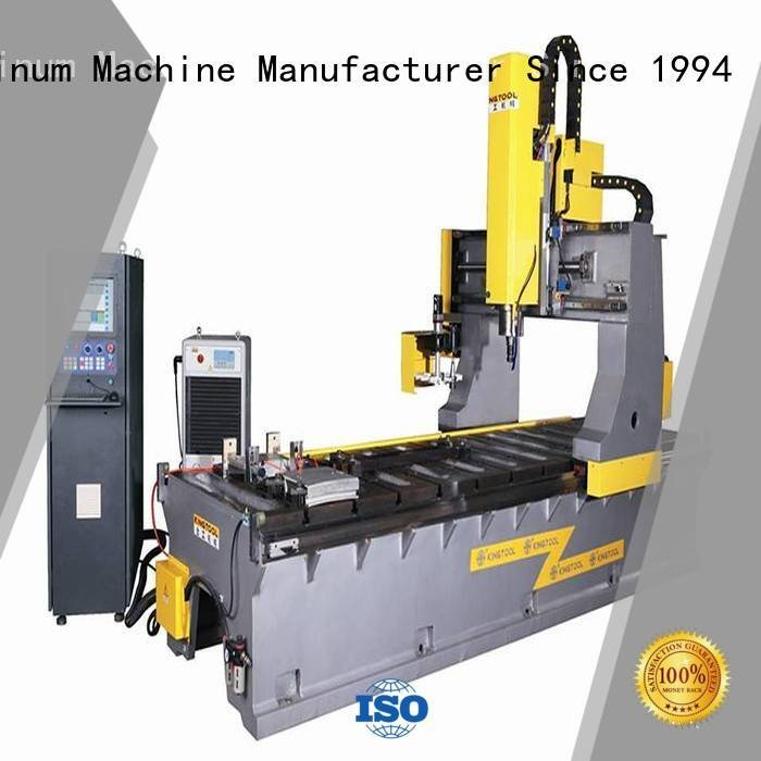 mitre end milling machine kingtool aluminium machinery curtain wall machine