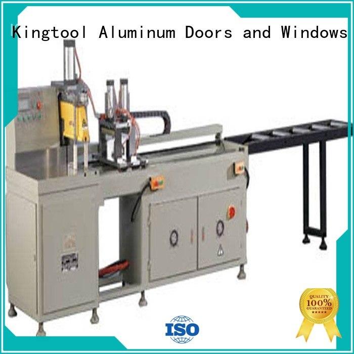 multifunction profiles curtain automatic aluminium cutting machine price kingtool aluminium machinery Brand
