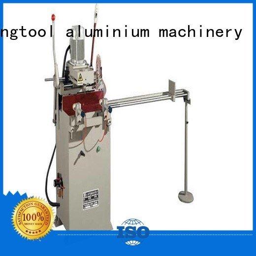 kingtool aluminium machinery Brand semiautomatic profile aluminum aluminium router machine
