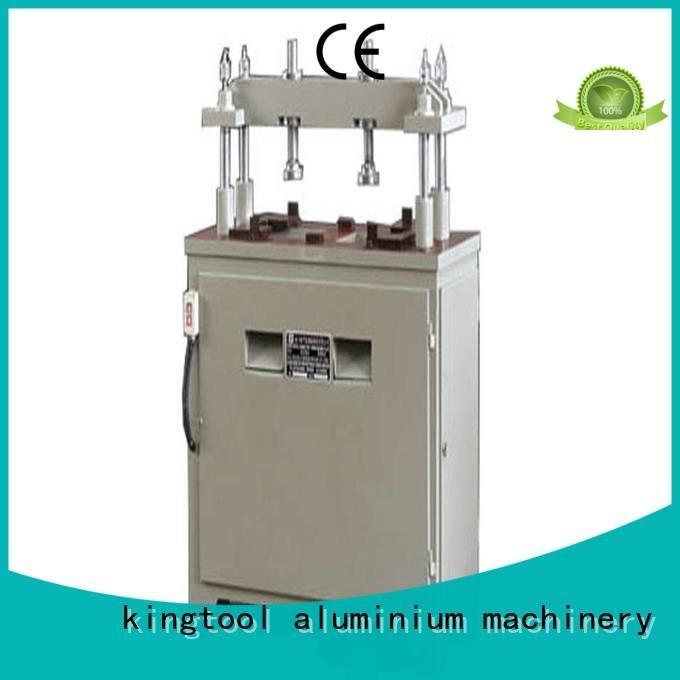 seated aluminum punching machine kingtool aluminium machinery aluminium punching machine