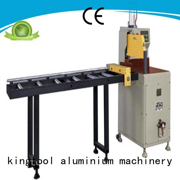 cutting 45degree kingtool aluminium machinery aluminium cutting machine