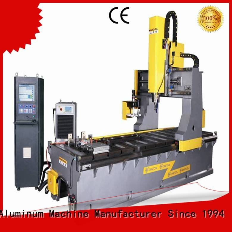 kingtool aluminium machinery Brand stir cnc aluminium press machine heavyduty milling