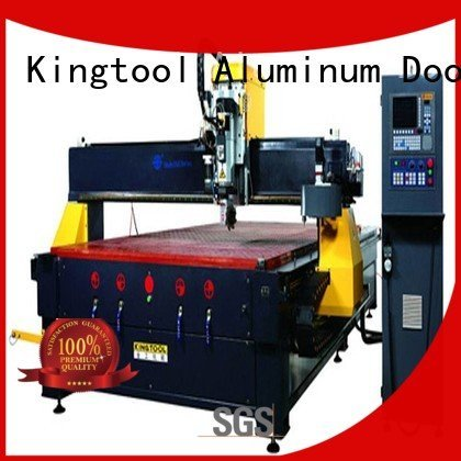 cnc center aluminium router machine machining kingtool aluminium machinery