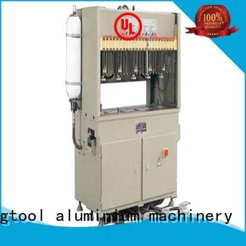 column aluminum profile aluminium punching machine kingtool aluminium machinery