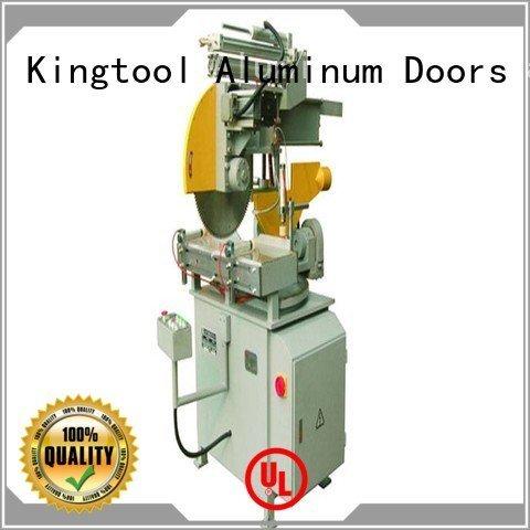 kingtool aluminium machinery aluminum auto feeding aluminium cutting machine mitre cutting