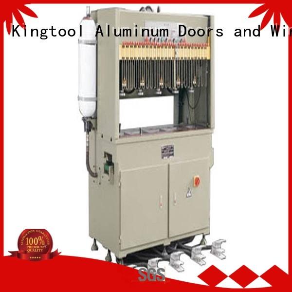 aluminium punching machine seated aluminum punching machine kingtool aluminium machinery Brand
