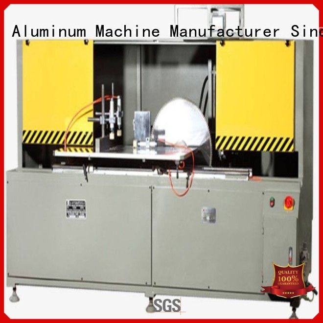 cutting saw aluminum curtain wall cutting machine curtain single head kingtool aluminium machinery company