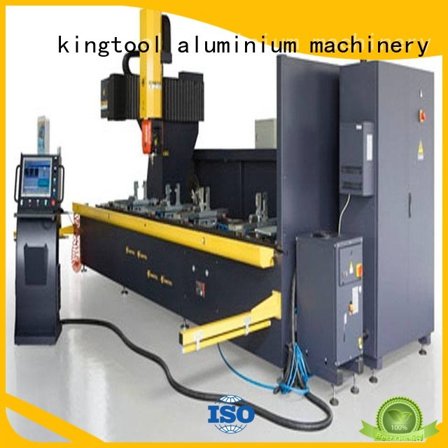 cutting cnc router aluminum cnc machining kingtool aluminium machinery Brand
