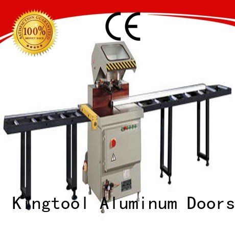 kingtool aluminium machinery curtain duty mitre aluminium cutting machine price readout