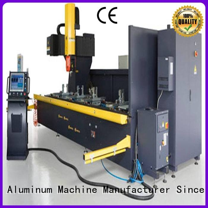 kingtool aluminium machinery Brand head profile cnc aluminium router machine industrial