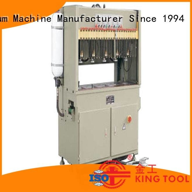 kingtool aluminium machinery aluminium punching machine machine column hydraulic