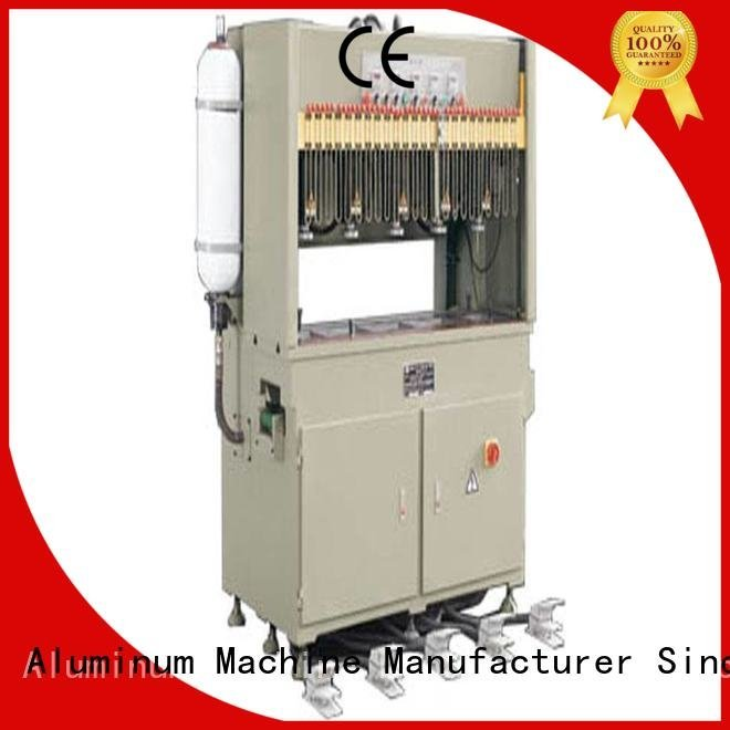 kingtool aluminium machinery Brand multicy linder pnumatic aluminum punching machine column seated