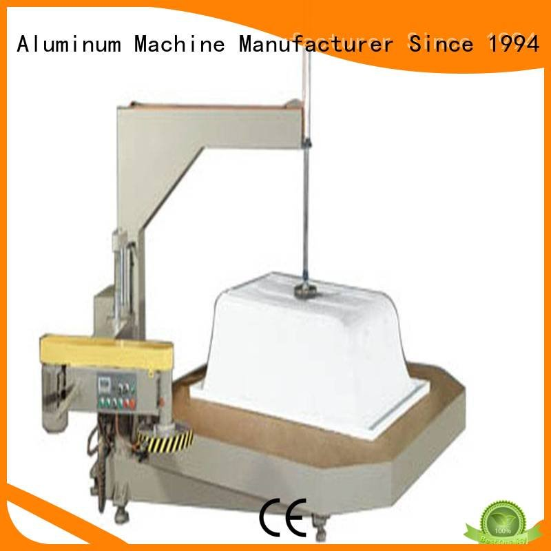 kingtool aluminium machinery Sanitary Ware Machine arc display double machine