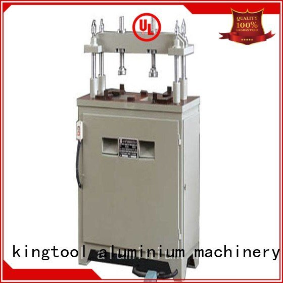 kingtool aluminium machinery machine four column seated aluminium punching machine pnumatic