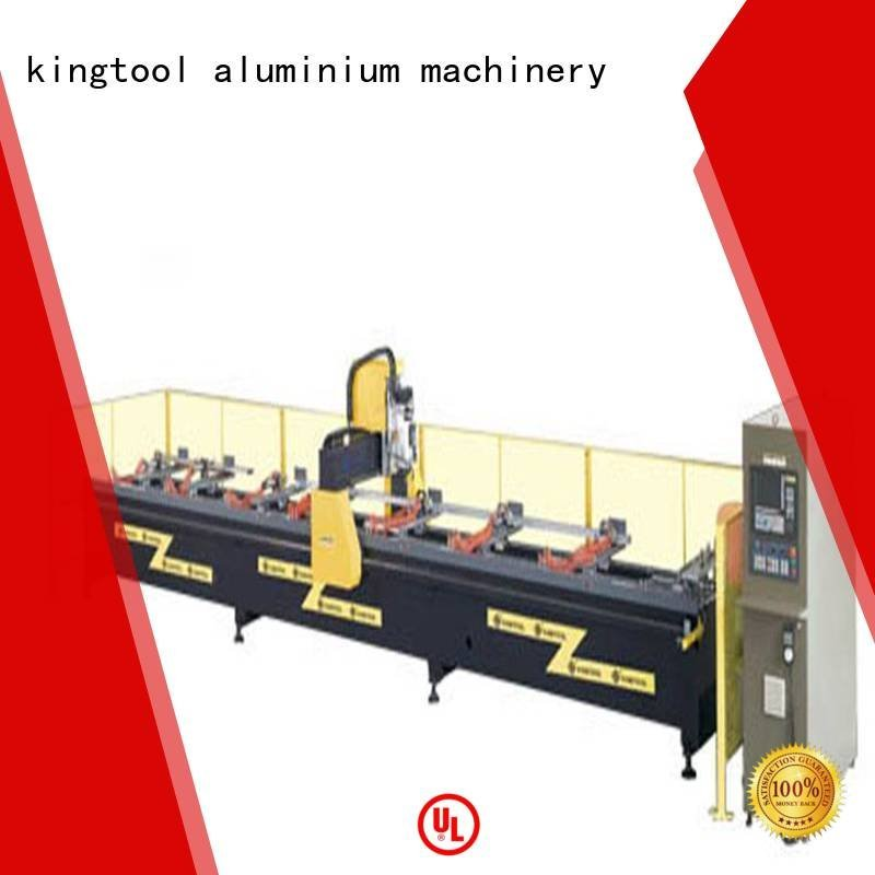 router profile aluminium router machine 3axis kingtool aluminium machinery