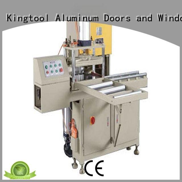 Hot sanitary profile cutting machine mitre ware threeblade kingtool aluminium machinery Brand