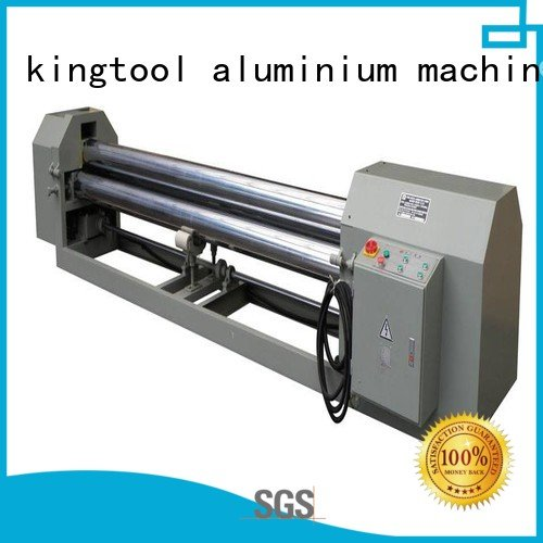 kingtool aluminium machinery Brand 3roller aluminum aluminium bending machine  cnc bending