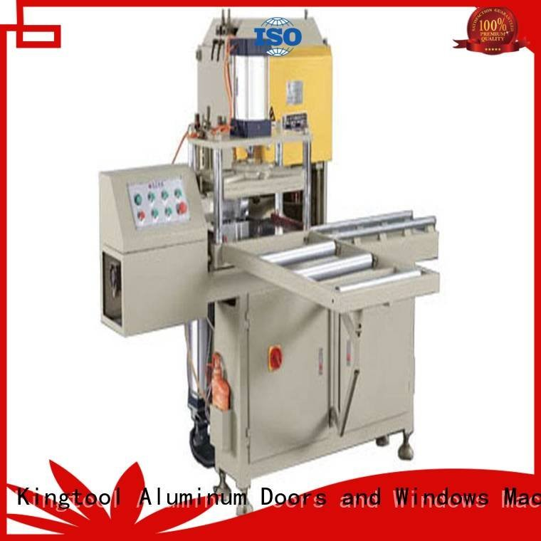 kingtool aluminium machinery Sanitary Ware Machine double machine ware mitre