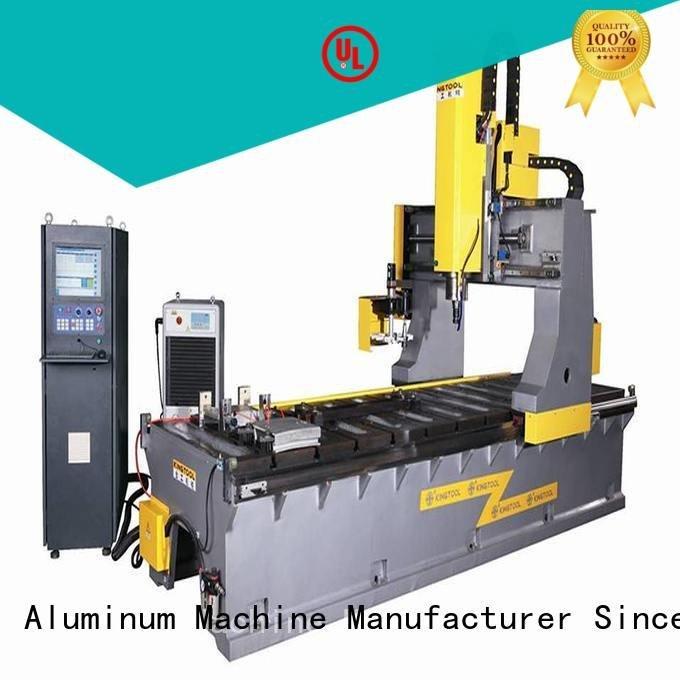 bending wall aluminium press machine kingtool aluminium machinery