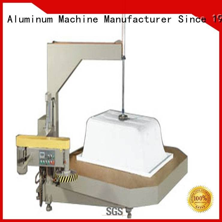 heavy duty materia arc kingtool aluminium machinery sanitary profile cutting machine