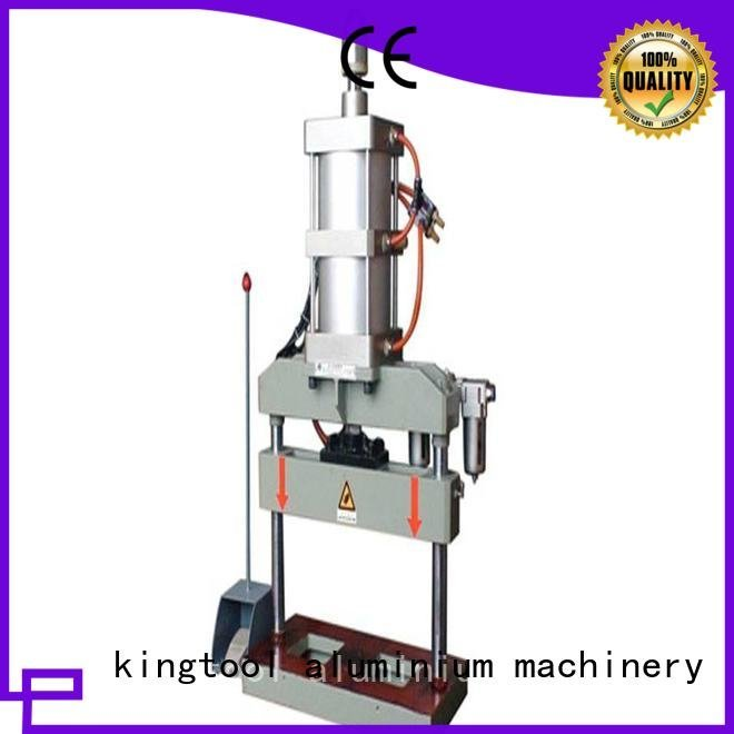 kingtool aluminium machinery aluminum punching machine profile machine multicy linder oil