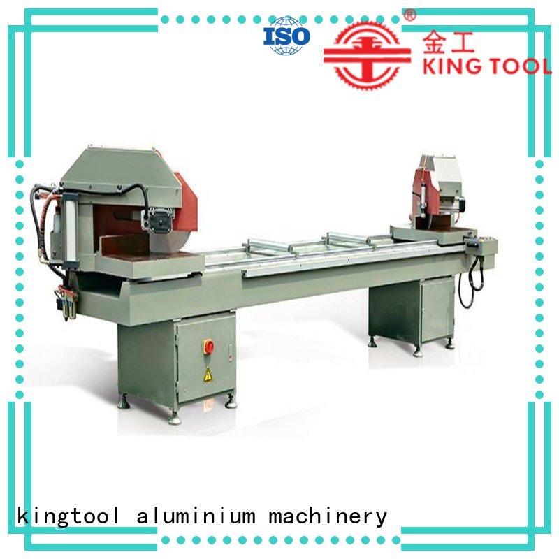 heavy full 45degree aluminium cutting machine price kingtool aluminium machinery manufacture