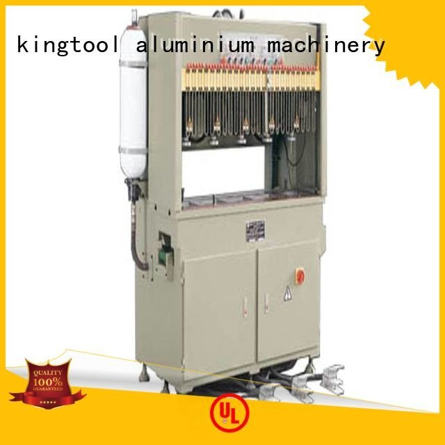 seated pnumatic kingtool aluminium machinery aluminum punching machine